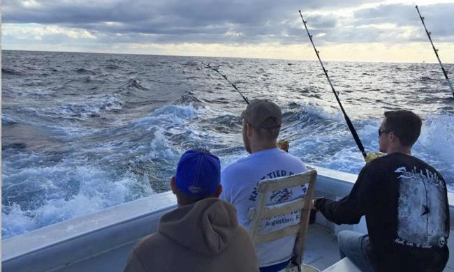 Knot Tied Down offers fishing charters for all levels of experience.