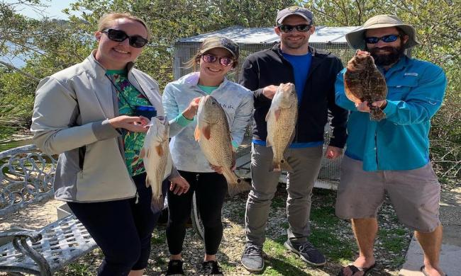 Local Knowledge Fishing Charters books group outings in St. Augustine, FL