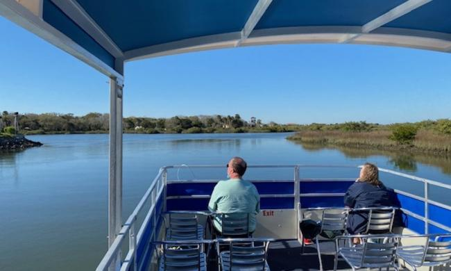 Enjoy St. Augustine Natural ecosystems with St. Augustine Land & Sea Tour