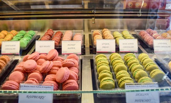 Macarons at Le Macaron in St. Augustine, Fl