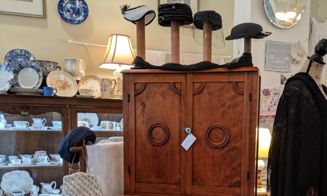 The Linen Room brings vintage antiques, china, and linens from England to shoppers in St. Augustine.