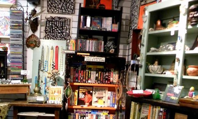 Find books and more at Lost and Found Jewelry in historic St. Augustine.