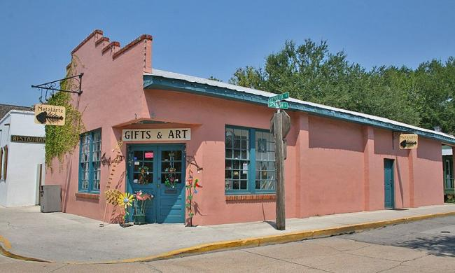 Metalartz Gallery is located on Hypolita Street in St. Augustine's historic district.