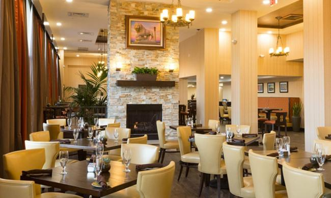 The Oak Room Restaurant features upscale American cuisine for breakfast, lunch and dinner.