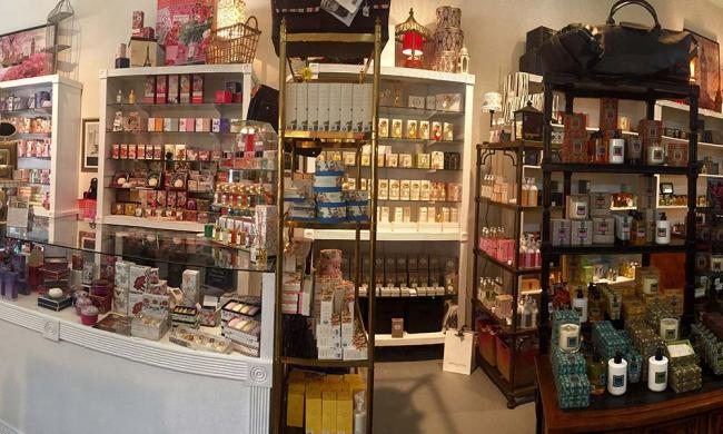 Old City Bathecary offers a huge selection of fine fragrances and grooming products.