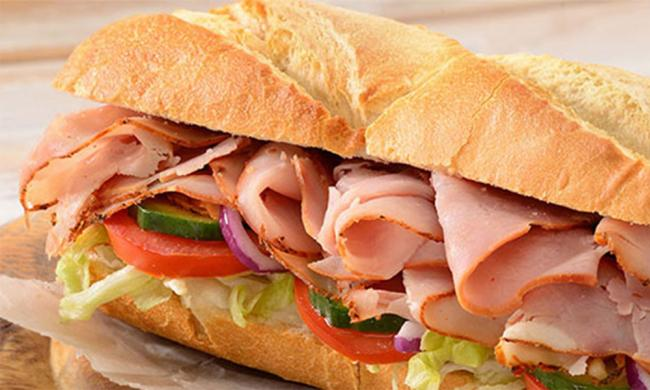 A Southern Style ham sub at Old City Subs in St. Augustine.