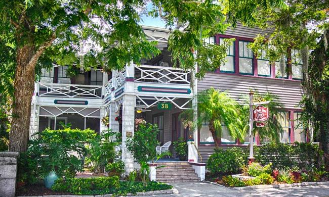 The Old Powder House Inn is a bed and breakfast in the historic area of St. Augustine, Florida.