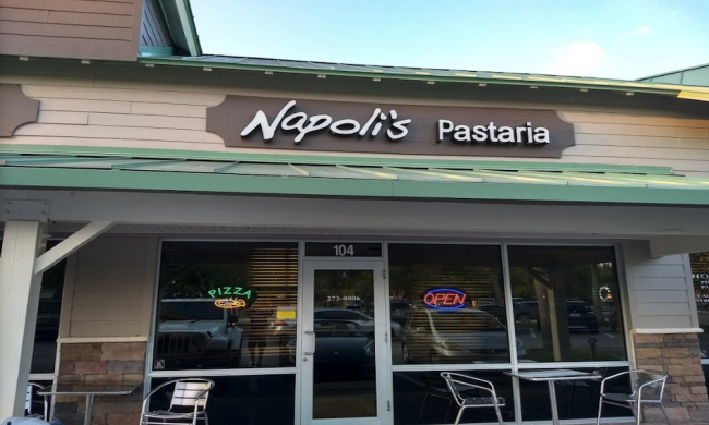 Outside of Napoli's Pastaria in Ponte Vedra Beach, Fl