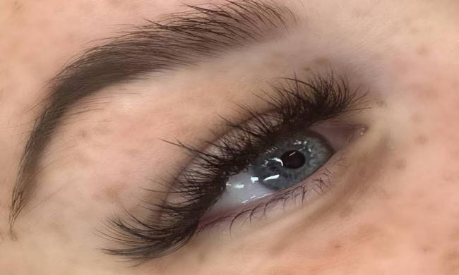Passions Beauty Bar eyelash extensions in St. Augustine, FL.