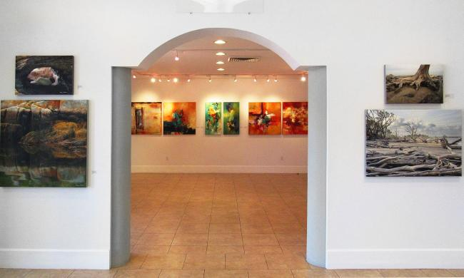 Inside the Cultural Center at Ponte Vedra Beach.