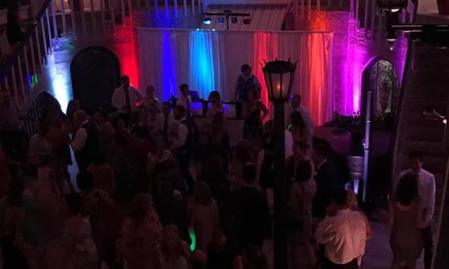 Pro Show DJ performing at a Wedding in St. Augustine