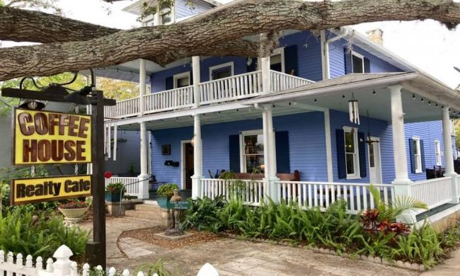 Coffee House Realty Cafe in St. Augustine, FL