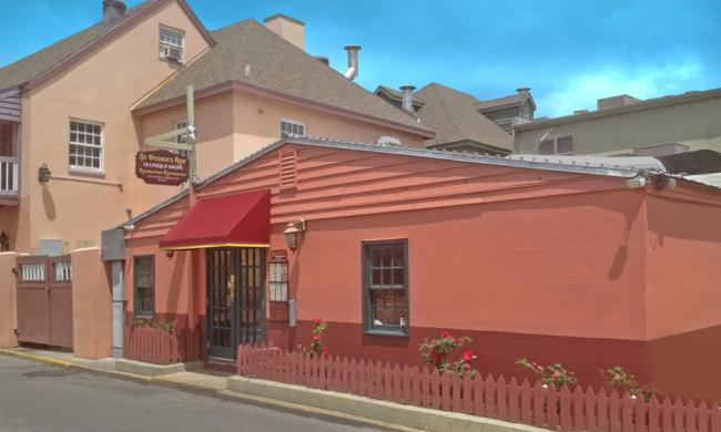 The Rendezvous Restaurant and beer pub in St. Augustine, Florida.