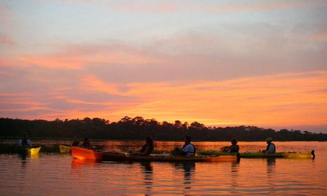 Ripple Effects Ecotours offers amazing views of the breathtaking sunsets in St. Augustine!