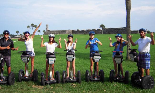 See the historic sights in St. Augustine on a Segway PT with Segs by the Sea.