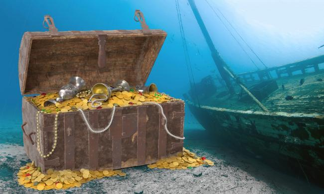 Treasure from the sea can be found at the Shipwreck Museum in St. Augustine.