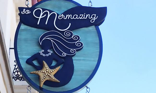 Everything a mermaid or mermaid-lover could desire can be found at the So Mermazing boutique in St. Augustine.