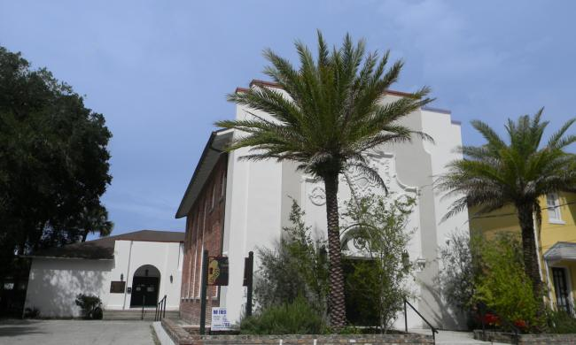 The First Congregation of the Sons of Israel on Cordova Street in St. Augustine.