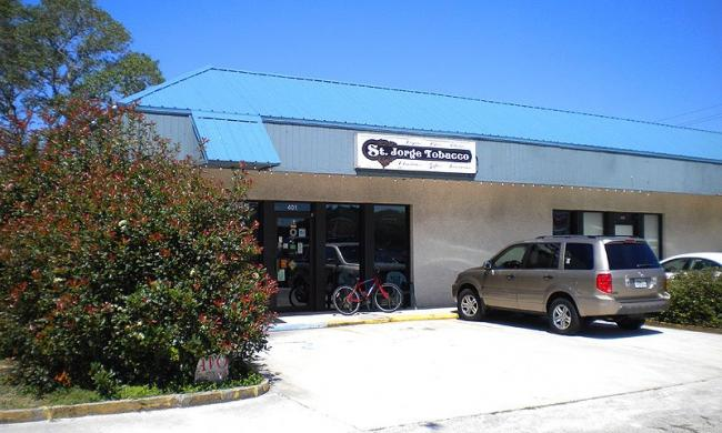 St. Jorge Tobacco Shop is conveniently located on a1a in St. Augustine Beach