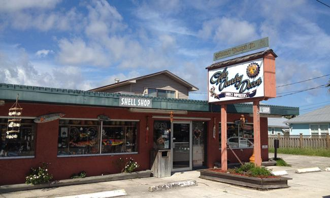 Sunburst Trading Company's Shell Shop Beachside offers a huge selection of shells, fossils, coral and more.