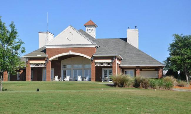 The clubhouse at the Golf Club South Hampton, north of St. Augustine.