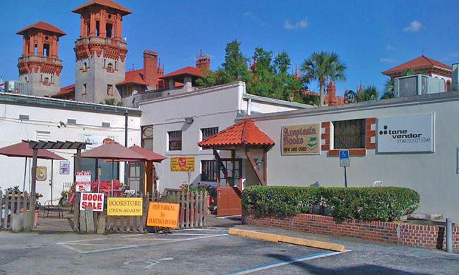 Tone Vendor is across from Flagler College in St. Augustine, Fl.