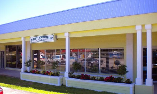 Tripp Harrison Art Gallery is on Anastasia Island.