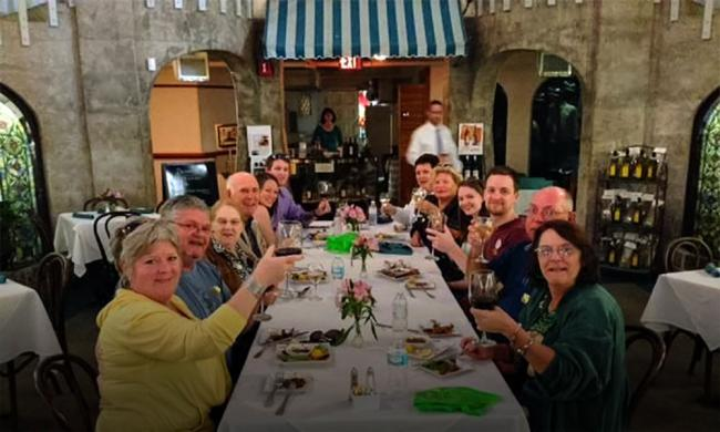 City Walks Food and Wine Tours offers St. Augustine's original Savory Faire food and wine tour.
