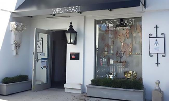 The West to East boutique in the Uptown San Marco district of St. Augustine features furniture, home accents and gifts
