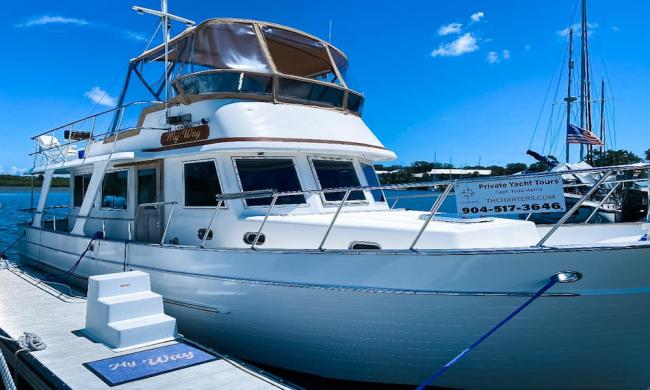 "TH Charters yacht, ""My Way"""