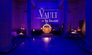 The Vault at the Treasury opens select nights for drinks and dancing.
