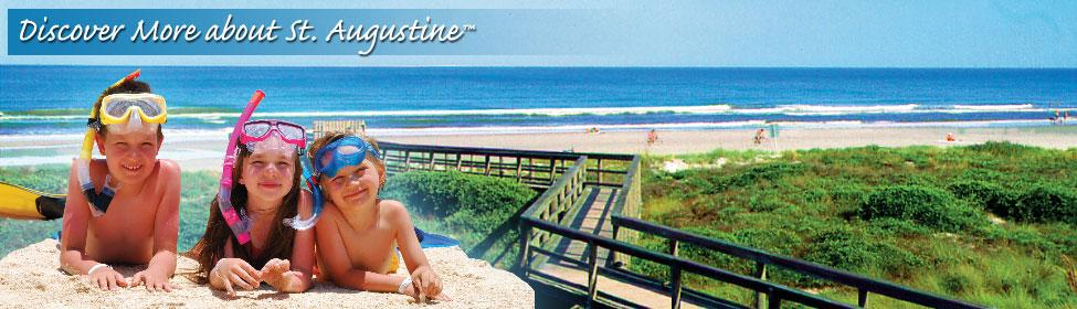 St. Augustine Beach, a Family-friendly beach