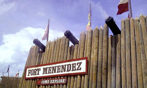 Fort Menendez at Old Florida Museum offers fun living history activities the whole family can enjoy.
