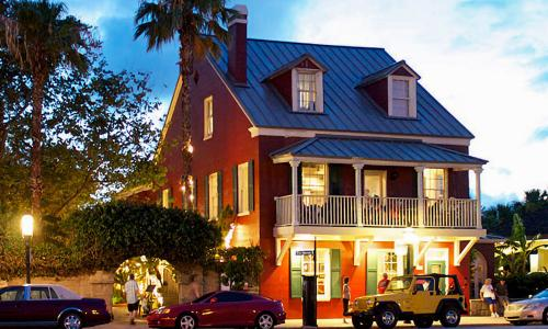 Harry's Seafood Bar and Grille is located on the bayfront, in the heart of downtown St. Augustine.