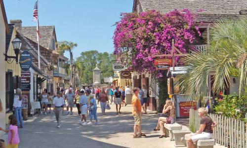 St. Augustine Scavenger Hunters offer a variety of hunts, all of them through the historic district of the nation's oldest city.