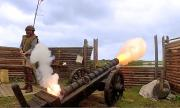 Cannon firing at the Fountain of Youth.