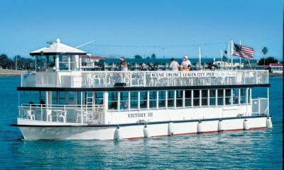 Scenic Cruise boat in St. Augustine, FL