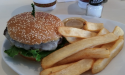 Burger and Fries at The Loop in Nocatee, Florida