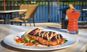 Salmon at Pusser's Bar & Grille in Ponte Vedra Beach, Fl