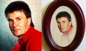 Comparison photo of a man and their carved portrait from Anatol Studio