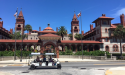 Explore the brick street of St. Augustine with St. Augustine Land & Sea Tours