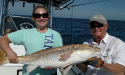 Captain David Ballard and guest with Great White Charters in St. Augustine, FL