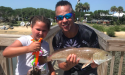 Father daughter fishing experience with Island Fishing Charters in St. Augustine, FL