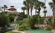Fiesta Falls Miniature Golf in St. Augustie Beach, FL