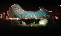 Just over the Bridge of Lions, you'll find the oh-so-welcoming St. Augustine Beach.
