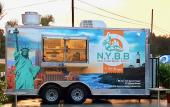 The New York Beach Bagel Food Truck in St. Augustine.