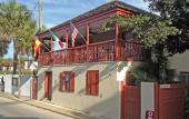 The Casa Maya is located on Hypolita Street, just a block from the bayfront in historic St. Augustine, Florida.