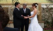 John Reardon conducting a wedding ceremony St. Augustine.