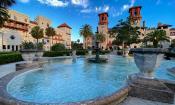 Gardens at the Alcazar in St. Augustine, Florida