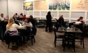 Inside Al Dente's Ristorante Italiano in St. Johns, FL